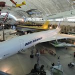 Concorde, Boeing 707 and other planes