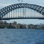 Bridge from the Sydney Harbor