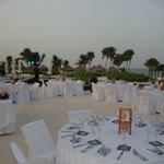 Wedding Reception in paradise