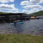 Saranac Lake- Gauthiers -June 2014. Our 15 year anniversary