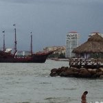 Pirate ship sailed by daily