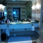 Bathroom, also had a vanity, huge tub, and separate shower. Toilet was in its own small room to