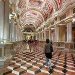 Hallway between front desk and casino area