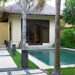 Private villa pool