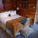 comfortable cabin bed