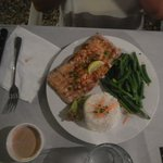 A dinner at Manuia Grill