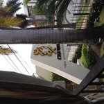 Vista desde la mesa preferida del aviso Rest. Casa Vera