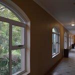 hallway outside room