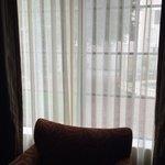 Room 121 - window to pool