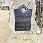 Historical Marker at Luchenback, Texas