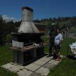 Claudio e Silvana al barbecue