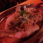 Lemon sauce stemed fish - extremely good!