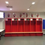 Bayern Munich Changing room