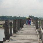 橋の上の様子