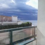 vista dal terrazzino della camera