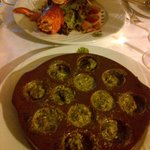 Escargot and Lobster Salad