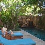 family villa pool (very cool)