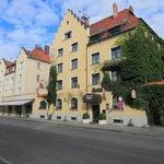 Außenansicht Hotel und Restaurant Fürstenhof