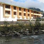 Горная речка у отеля
