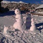 winter wonderland at Skotel