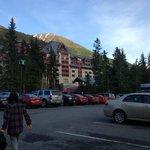 Arriving at Alyeska Resort