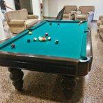 The pool at the bar