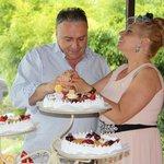 tarta banquete bodas 25 años