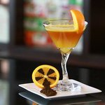 Refreshing Sunset Mocktail