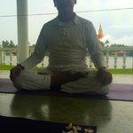 Yoga master Roland. Hatha Yoga