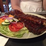 'Baby' ribs! Chips are just out of picture!