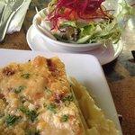 Potato gratin & salaf