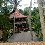 The Yoga Barn - seen from Garden Kafe