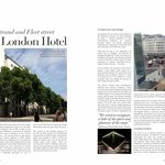 My hotel review published in my magazine