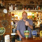 Allen the landlord is always happy to pull a pint