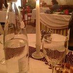 Particolare della cena Trentina a Ferragosto