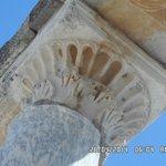 los tallados de las columnas...
