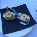 mise en bouche au foie gras