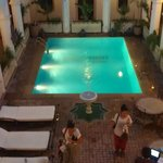 The swimming pool !!