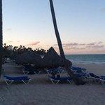 plage au crepuscule