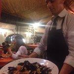 Il Caposala Antonio e le sue porzioni......abbondanti.....