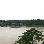 Thai Checkpoint across the river