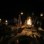 dinner and lamps
