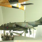 Examples of planes on display