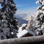 vue du Tyrol la Rosière