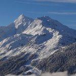 vue du Tyrol à la Rosière de Montvalezan