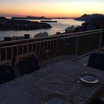 Dinner on Danica's balcony