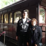 Puffing Billy Luncheon Train, a beautiful meal, friendly staff & great service.