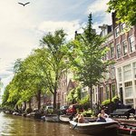 The beautiful Amsterdam Canals