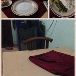 The food prepared hours ago which made us sick for two days.