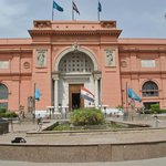 at the Egyptian Museum..